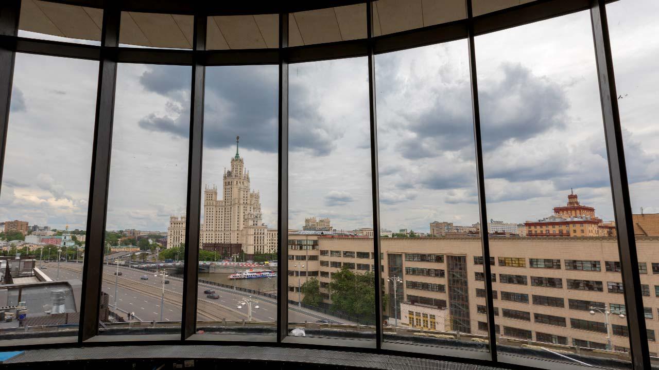 Baltschug BH-18, Moskau: View at russian embassy